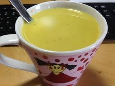 Kurkuma Latte mit Reismilch