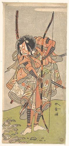 Katsukawa Shunshō | Kabuki Actor Ichikawa Ebizō III (Ichikawa Danjūrō IV) | Japan | Edo period (1615–1868) |