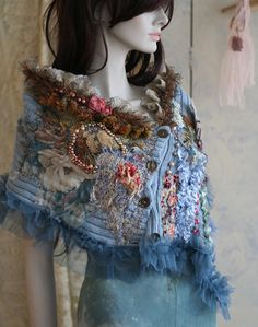 art clothing unique by lost anyla on Etsy