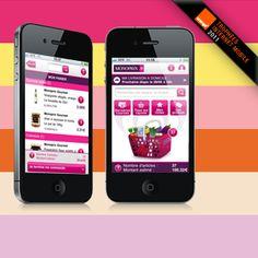 L'application m-commerce de Monoprix primée par les Trophées Orange by Isobar