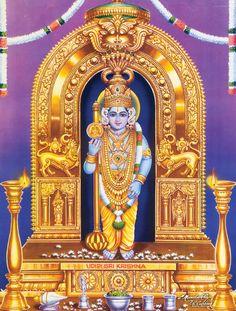 Krishna Temple, Krishna Hindu, Bal Krishna, Hindu Deities, Lord Ganesha Paintings, Krishna Painting, Lord Krishna Images, Krishna Pictures, Krishna Avatar