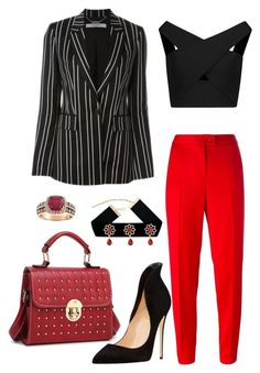 """""""Untitled #646"""" by rubysparks90 on Polyvore featuring Givenchy, Michelle Mason, Boutique Moschino and Effy Jewelry"""