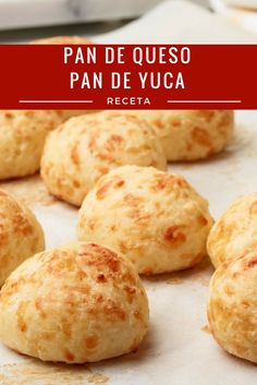 Pao de Queijo Recipe from Food Network My Recipes, Gluten Free Recipes, Bread Recipes, Cooking Recipes, Favorite Recipes, Pan Bread, Bread Baking, Bolivian Food, Colombian Food