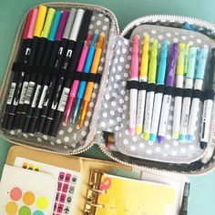 Welcome to Part Two of our What's in my Kipling case. The rest of the team is here to share their ideas with you.Be sure to read till the end to be entered to win yet another Kipling 100 Pens Case...