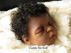 AA / Ethnic Reborn Baby Boy Xavier Sheila Micheal Kit