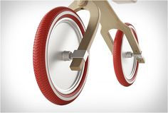 Winner of multiple design awards, the beautiful Brum Brum balance bike features a unique integrated suspension system that makes the ride much more comfortable for our special toddlers. Brum Brum is the lightest on the market, it is made from birch a