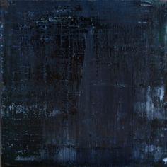 "Koen Lybaert; Oil 2014 Painting ""abstract N° 784 [Darkness]"""