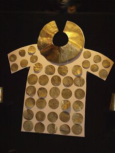 Ancient Incan jewelry in Museo Rafael Larco Herrera