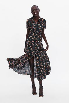 14 Ideas De Vestidos Zara 2019 Zara Compras Cestas