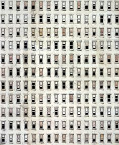 Toba Khedoori Untitled (Windows) (detail) 1994 Oil and wax on paper 11 x 20 feet