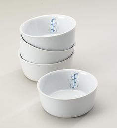 Portion Control Bowls. Perfect for making sure I don't go overboard with cereal.