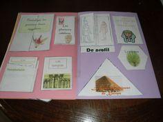 Pages intérieures du lapbook de l'Egypte antique, Solveig, 11 ans, Avril 2011. www.carpediem.asso.fr
