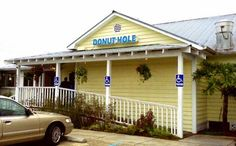 The Donut Hole, Santa Rosa Beach, FL. We eat here every year as we leave the beach for home.