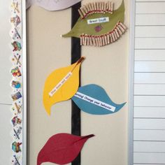 A behavior chart in a ladybug inspired classroom!