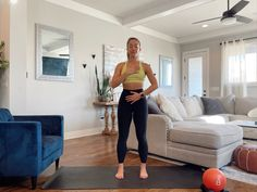 Breathwork Barre Exercises At Home, Barre Workout, Full Body Strength Workout, 15 Minute Workout, Side Lunges, Knee Up, Hip Openers, Glute Bridge