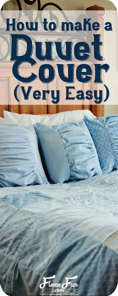 Make A Duvet Cover Easy