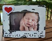 Hello World.  Newborn frame