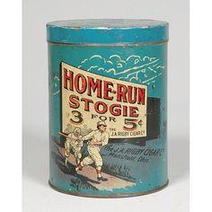 Home Run Tin