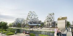 Gallery of MVRDV Wins Competition in France with Residential Development Inspired by Rock Formations - 1