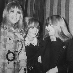 Pattie Boyd, Lulu and Cynthia Lennon