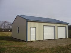 "Building Dimensions: 30' W x 32' L x 10' 4"" H (ID# 303)  Visit: http://pioneerpolebuildings.com/portfolio/project/30-w-x-32-l-x-10-4-h-id-303-total-cost-10640  Like Us on Facebook! www.facebook.com/... Call: 888-448-2505 for any questions!"
