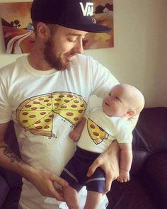 A slice of the pizza! Ha! Lol...too cute!