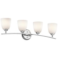 Upgraded Bath Light - Granby 4-Light Vanity in Chrome (Included with Chrome Alteo Plumbing Package)