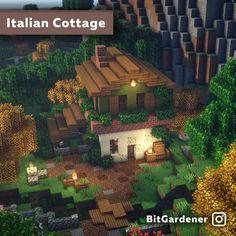 Minecraft Farmen, Casa Medieval Minecraft, Cute Minecraft Houses, Minecraft House Designs, Minecraft Survival, Amazing Minecraft, Minecraft Construction, Minecraft Blueprints, Minecraft Crafts