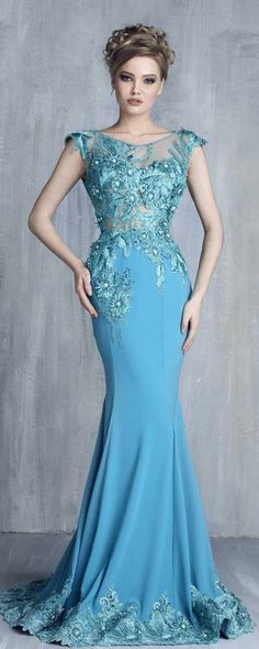 Tony Chaaya Haute Couture 2016 Collection - Evening Dress