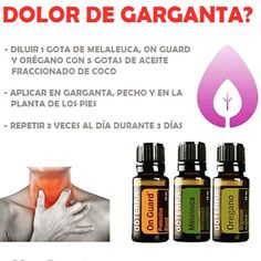 doterra oils for sore throat Essential Oils For Colds, Young Living Essential Oils, Essential Oil Blends, Melaleuca, Oils For Sore Throat, My Doterra, Herbal Oil, Young Living Oils, Oil Diffuser