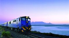 train leaving table mountain south africa backgrounds