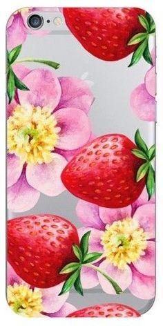 OTM Essentials iPhone 6/6S/7/8 Case Strawberry Flowers