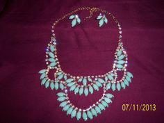 Stunning Native American Inspired Mint Choker and by CalicoCandys, $39.50
