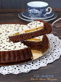 Ciasto czekoladowe z olejem rzepakowym i pomarańczą @cafeamaretto