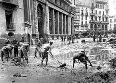 Gran riada de Valencia año 1957