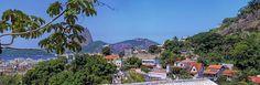 Vista da Santa Teresa para o Pão de Açúcar. Rio de Janeiro, brasil.