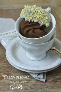 Viennese chocolate sablés di Pierre Hermé | Burro e Malla