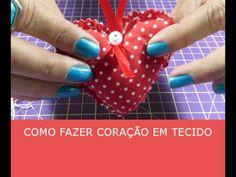 Sachê de coração - Artesanato - Ateliê Centauro - Artesã Flávia Castanheira - YouTube