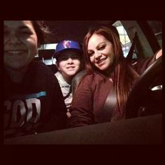 Jenni driving her youngest kids to school December 4th, 2012