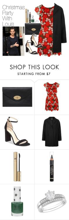 """""""Christmas Party with Louis Tomlinson"""" by onedirectionimagineoutfits99 ❤ liked on Polyvore featuring Mulberry, Topshop, Vince Camuto, D&G and Anrealage"""