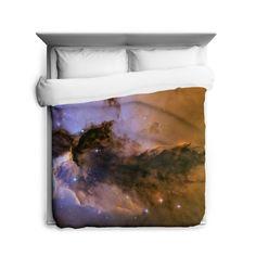 Sharp Shirter The Fairy of Eagle Nebula Duvet Cover (Queen), Multi (Microfiber, Wildlife)