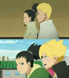 Shikamaru & Naruto Shikadai & Boruto
