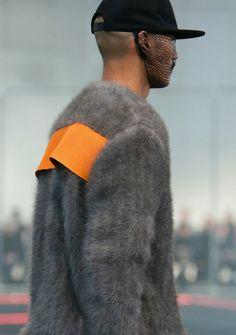 Paolo Roldan at Givenchy F/W 2014