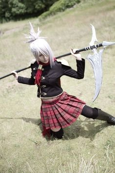 Japanese Cosplay : Sice (Final Fantasy Type-0)