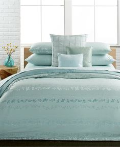 Calvin Klein Nightingale Queen Duvet Cover Set - Bedding Collections - Bed & Bath - Macy's
