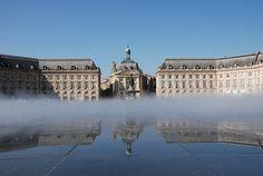 Bordeaux - Place de la bourse - Miroir d'eau | Flickr: partage de photos!