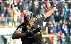 Paul Pogba dabbing is my favorite thing in the universe