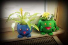 Hubelupf und Myrapla Blumentopf DIY auf nerd-it-yourself.de