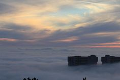 Pierfrancesco Fontana  Trieste avvolta nella nebbia