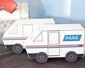 Mail Truck Favor Box  {via Piggy Bank Parties}
